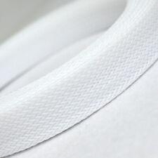 Ø3~30mm Weiß PET Geflechtschlauch Gewebeschlauch Kabelschlauch Draht Sleeve