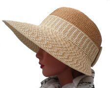 Damen Schute Kofferhut Sonnenhut  Urlaub Strand Garten Freizeit Sonnenschutz
