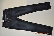 High waisted,  skinney navy blue denim jeans