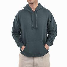 New Gildan Men's Pull-Over Fleece Hoodie Gray Size L, XL Orig. Retail $28