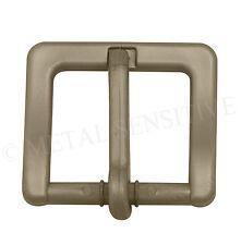 35mm Plastica Cintura Fibbia Metallo non metallici liberi NICHEL IPOALLERGENICO BRONZO