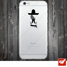 Sticker Autocollant Apple Iphone 4 5 6  Lot de 2X - FAR WEST COWBOY IPH47