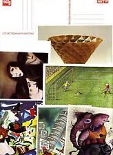 DDR 20 GA`s 10te Kunstausstellung - diverse Werte  (D1)