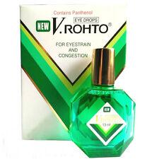 New V.Rohto Eye Drops, Bottle of 13ml, Anti-Eyestrain, Congestion, Free Ship