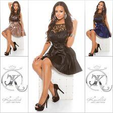 Sexy KouCla dress cóctel vestido de fiesta vestido de noche minivestido con punta de bordado