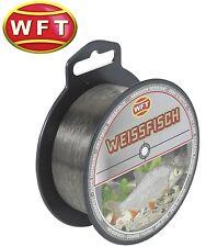 (0,01€/1m) WFT Zielfisch Weißfisch 500m - Monofile Angelschnur, Friedfischschnur