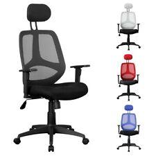FineBuy FLORI chaise de bureau exécutif, chaise pivotante bureau avec accoudoirs