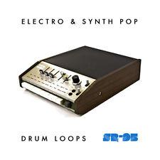 Univox SR-95 Vintage Drum Machine Loops Samples Electro Synth (WAV REX2 AIFF)