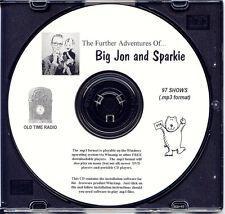 ADVENTURES OF BIG JON & SPARKIE - 97 Shows Old Time Radio In MP3 Format OTR 1 CD