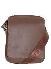 KATANA Sac bandoulière en cuir réf 89104 (noir, marron ou marron foncé)