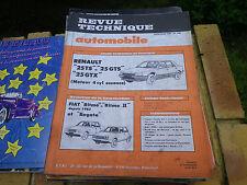 RTA 446 RENAULT 25 TS - 25 GTS - 25 GTX 4 cylindres Essence Evolution FIAT RITMO