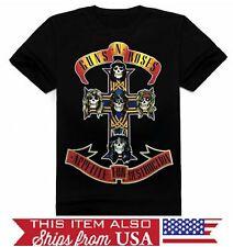 Guns N' Roses Appetite for Destruction Axl Slash Graphic T-Shirt - S M L XL