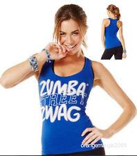 ZUMBA Street ZWAG Racerback Top Shirt Tank Tee w Z-Dri™ Official Zumbawear™ S M