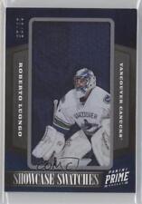 2012-13 Panini Prime Showcase Swatches #78 Roberto Luongo Vancouver Canucks Card
