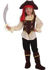 Buccaneer Beauty Child Pirate Swashbuckler Girls Fancy Halloween Costume S-L