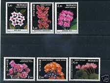MONACO - 1982 - yvert 1306/1311 - Fleurs - neufs**