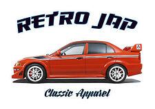 MITSUBISHI LANCER EVO 6. RETRO JAP. RALLY CAR. TOMMI MAKINEN. WRC WINNER.