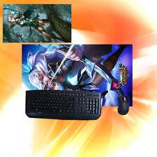 Marksman Miya Keyboard Mouse Pad Play Mat Mobile Game Playmat for Mobile Legends