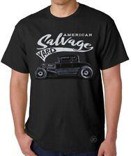 AMERICAN SALVAGE YARD T-Shirt ~ Hot Rat Rod Tee ~ Junkyard