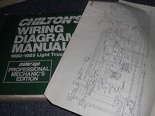 1981 DODGE PLYMOUTH TRUCKS AND VANS CARAVAN VOYAGER RAM WIRING DIAGRAMS SHEETS