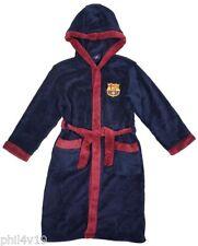 Barcelona FCB kids dressing gown / Childrens bathrobe (childs boys pjs pajamas)