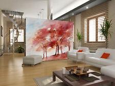 3D Encre Erable 33 Photo Papier Peint en Autocollant Murale Plafond Chambre Art