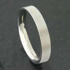 Edelstahl Ring Bandring schmaler schlichter Freundschaftsring Damen Herren 5mm