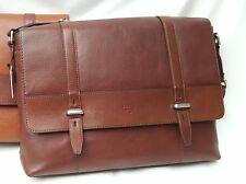 BNWT Fossil Kent Messenger Bag (Brown) RRP £279