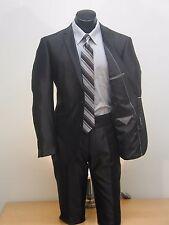 Retail $175.00 NOW $59.99 Renior Slim Fit Fashion Black 2B Suit