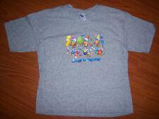 Gildan Brand Kids Gray Las Vegas T-shirt  Size L New