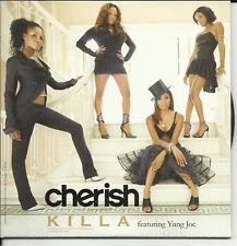 CHERISH Killa NO RAP VERSION & INSTRUMENTAL PROMO Radio DJ CD single 2007