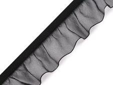 elastisches Rüschengummi , Rüsche, Rüschenband, 8 Farben, 5 / 25 mm