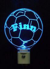"Soccer Ball LED Acrylic Night Light - Personalized 3/8"" acrylic"