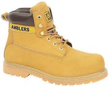 Amblers FS7 Popular Tan Safety Work Boot SB