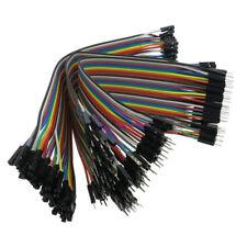 40pcs Female to Female 2.54mm 0.1 in Jumper Wires F//F O1C5