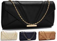 Ladies Di Marca Con Borchie Clutch Bags donna borsette da sera celebrity NUOVO
