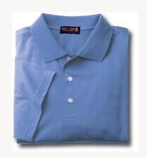 Mercerized Polo Golf Sport Shirt Short Sleeve Macaw