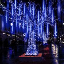 New Drop 50CM Shower Icicle Snow LED Strip Fall Star Rain Light Falling Xmas UK