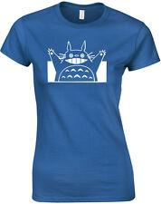 My Neighbor Totoro, Studio Ghibli inspired Ladies Printed T-Shirt