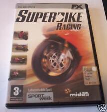 SUPERBIKE RACING gioco pc originale corse moto ITA PAL game videogioco