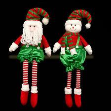 Christmas 70cm Sitting Character Room Decoration - Santa or Snowman