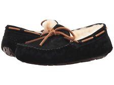 eb0a66cb1c56 Women s Shoes UGG Dakota Moccasin Slippers 5612 Black 5 6 7 8 9 10  New