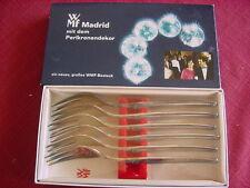 WMF Madrid 90 argentati 6 TORTA forchette NUOVO OVP circa 15,6 cm