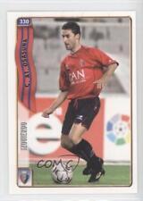 2004 2004-05 Mundicromo Las Fichas de la Liga #330 Jose Izquierdo Martinez Card