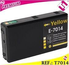TINTA T7014 T7024 T7034 COMPATIBLE CARTUCHO AMARILLO NONOEM EPSON ALTA CAPACIDAD