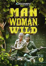 MAN WOMAN WILD SEASON 1 New Sealed 2 DVD Set