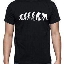 Evoluzione di hockey su ghiaccio T Shirt Puck Stick KIT Pattini Casco Team sostenitore