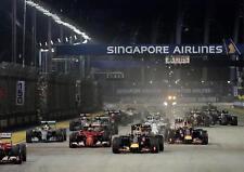 F1 SINGAPORE NIGHT RACE POSTER Formula One Wall Art Photo Print Poster A4 A3