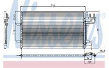 NISSENS Condenser, air conditioning fits Ford Focus C-Max 2.0 TDCi 1.6 2.0