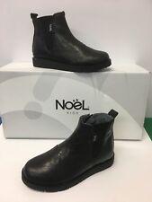 Noel ' Gaffa ' Girls Chelsea Style in Black with Zip fastening ,Elasticated side